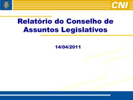 REUNIÃO DIRIGENTES/UNICOM – 03/02/05 de 9 às