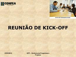 REUNIÃO DE KICK-OFF