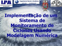 primeira reunião do projeto ciclones