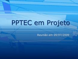 Reunião realizada em 09/07/2009