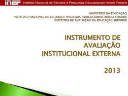 INEP - Seminários - CPA