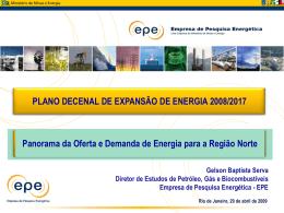 Apresentação PDE 2008-2017 no INT