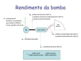 Rendimento da bomba