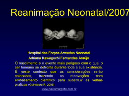 Reanimação Neonatal/2007
