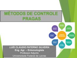 MÉTODOS DE CONTROLE A - Departamento de Entomologia
