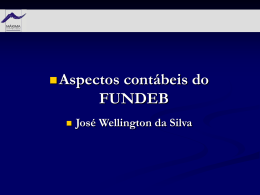 5. Aspectos Contábeis do FUNDEB