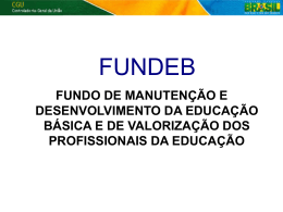 FUNDEB – (2013) versão final