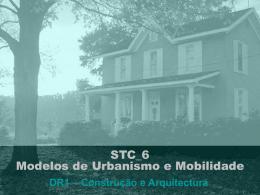 STC_6 Modelos de Urbanismo e Mobilidade - TIS
