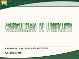 comercialização de lubrificantes