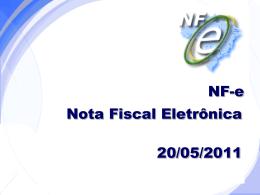 Secretaria da Fazenda - NF-e