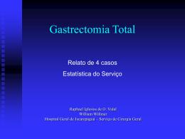 Gastrectomia Total - Saúde-Rio