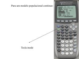 Uso da calculadora