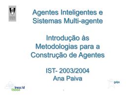 Metodologias - Técnico Lisboa