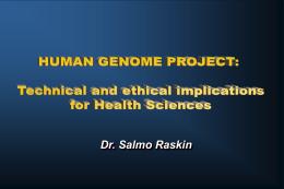 estudo multicêntrico das bases de genética molecular e da