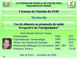polimorfismo - Universidade Federal de Juiz de Fora