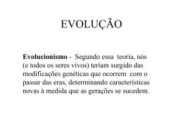 EVOLUÇÃO - Colégio Machado de Assis