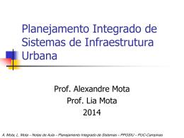 PPGSIU - Aula 01 - Critérios e Programa Preliminar - PUC