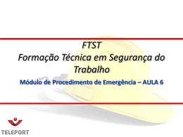 FTST Procedimento de..