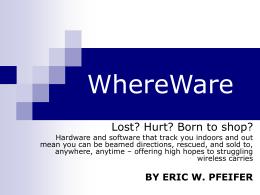 WhereWare
