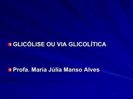 Via glicolítica
