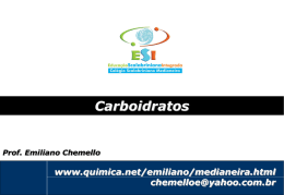 Quais são os tipos de carboidratos?
