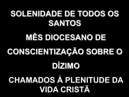 01/11/2014 - Diocese de São José dos Campos