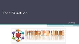 Interdisciplinaridade no Ciclo de Alfabetização - Caderno 3