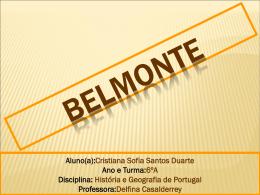 Belmonte - TwinSpace
