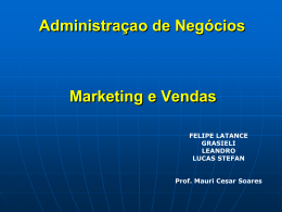 Marketing - Objetivo Sorocaba
