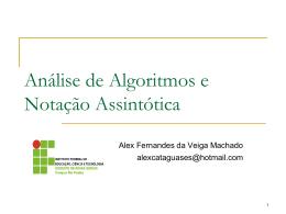 slide1-Introdução Analise de Algoritmos
