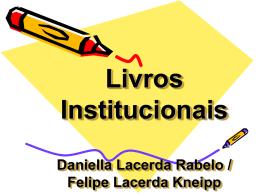 Livros institucionais