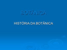 BOTÂNICA - So aulas