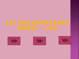 slide sobre lei orçamentária anual