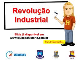 REVOLUÇÃO INDUSTRIAL