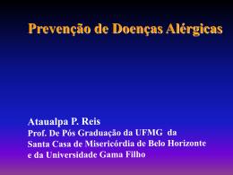 A prevencao das doenças alérgicas