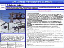 APT 15 - Trabalho em Andaime