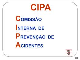 CIPA - Segurança e Trabalho