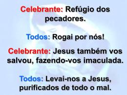 Oração Final - Paróquia Nossa Senhora do Perpétuo Socorro