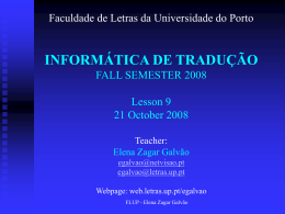 Padova Presentation - Universidade do Porto