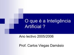 """Apresentação """"O Essencial da Inteligência Artificial?"""""""
