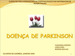 DOENÇA DE PARKINSON - Counter