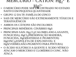 cation mercurio