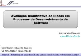 Avaliação Quantitativa de Riscos em Processos de