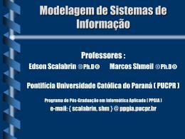 Modelo Hierárquico - Programa de Pós