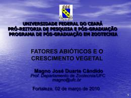 Slide 1 - Núcleo de Ensino e Estudos em Forragicultura