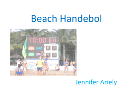 Beach Handebol