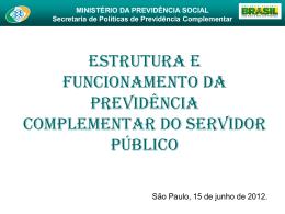 MINISTÉRIO DA PREVIDÊNCIA SOCIAL Secretaria de