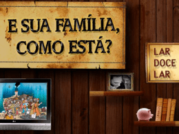 família - lição 13