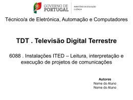 Técnico/a de Electrónica, Automação e Computadores Construção