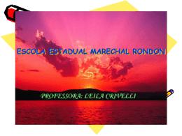 ESCOLA ESTADUAL MARECHAL RONDON